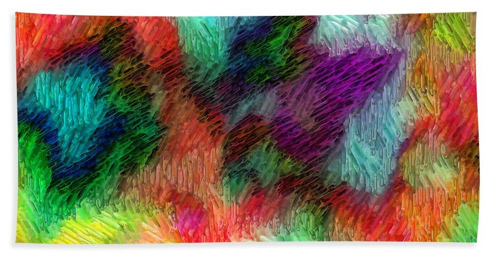 Hand Towel featuring the digital art 1997024 by Studio Pixelskizm