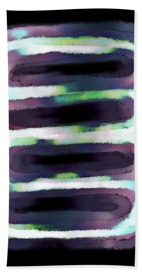 Hand Towel featuring the digital art 1999010 by Studio Pixelskizm