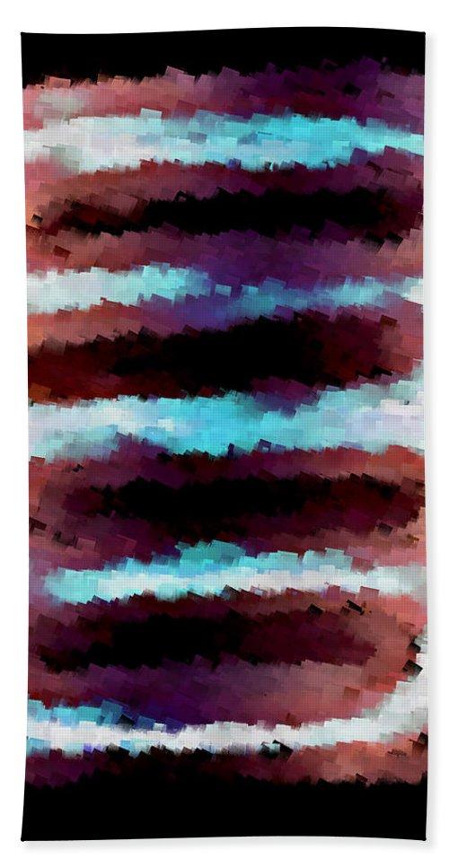 Hand Towel featuring the digital art 1999011 by Studio Pixelskizm