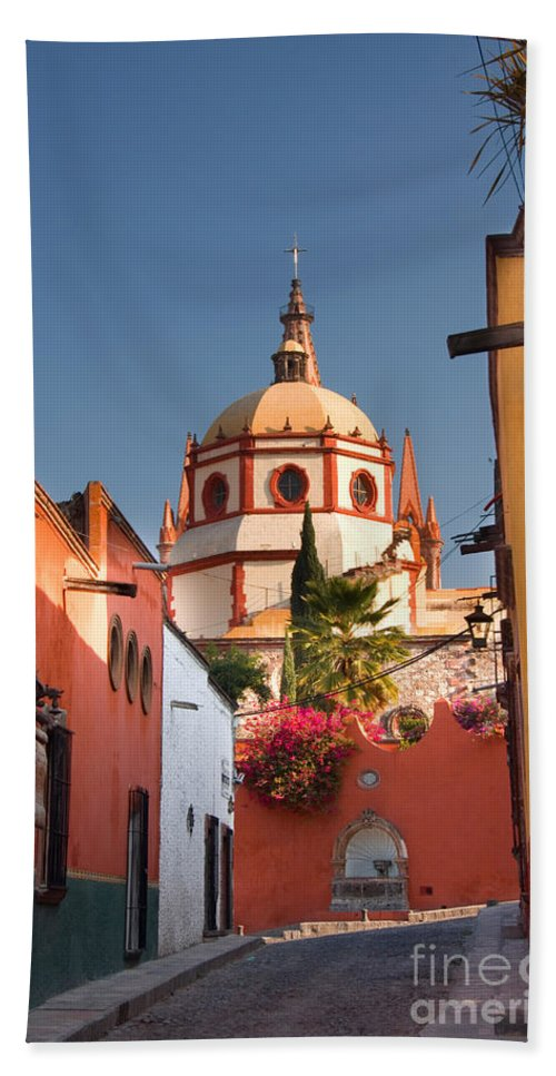 Landscape Bath Sheet featuring the photograph Church Of San Rafael by John Shaw