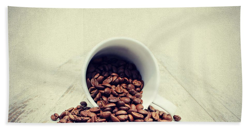 Coffee Bath Sheet featuring the photograph Coffee Time by Heike Hultsch