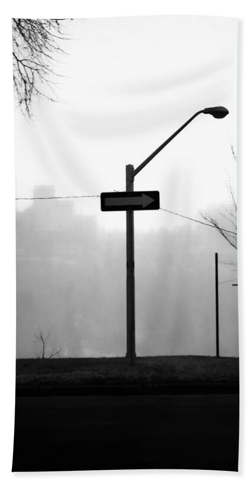 Street Photography Hand Towel featuring the photograph East Wind by The Artist Project