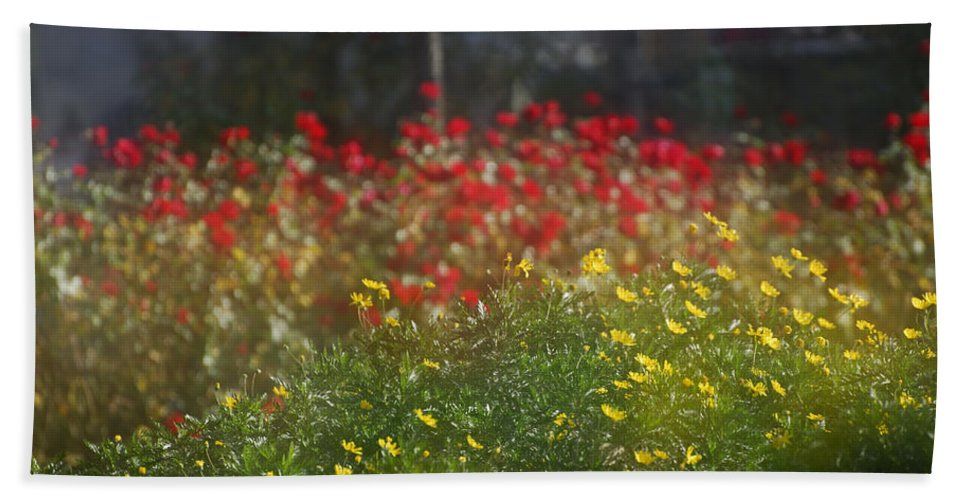 Flower Hand Towel featuring the photograph Forest City by Guido Montanes Castillo