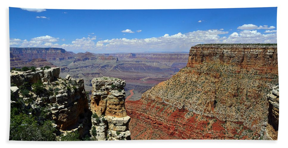 Grand Canyon Bath Sheet featuring the photograph Grand Canyon by RicardMN Photography