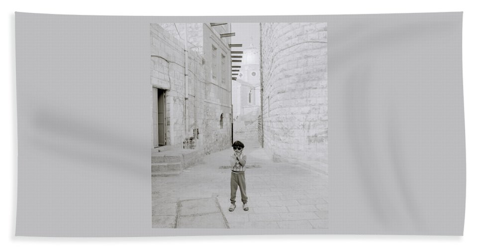 Children Hand Towel featuring the photograph Innocence by Shaun Higson
