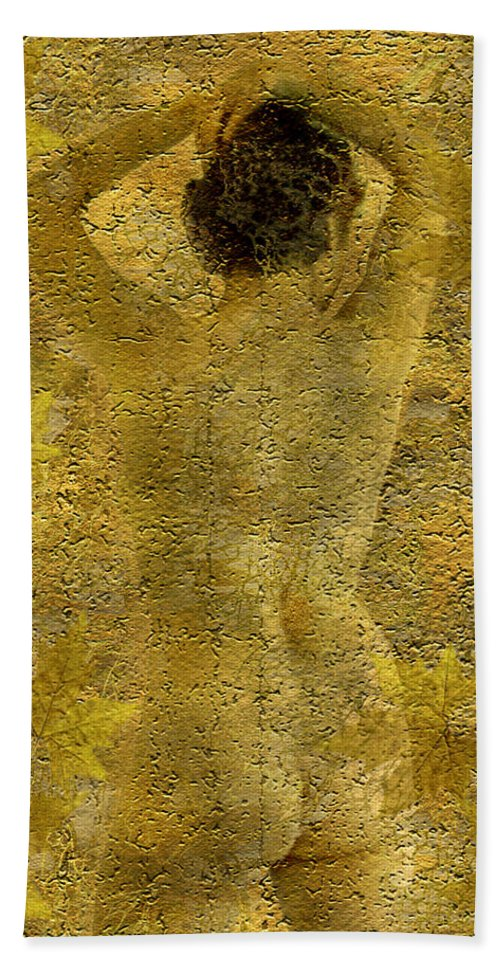 Nudes Hand Towel featuring the photograph Jenni by Kurt Van Wagner