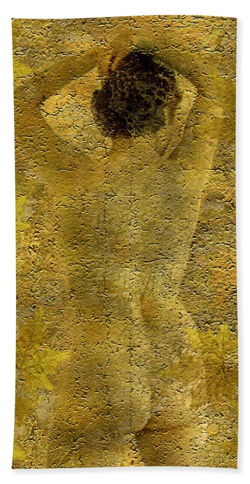 Nudes Bath Sheet featuring the photograph Jenni by Kurt Van Wagner