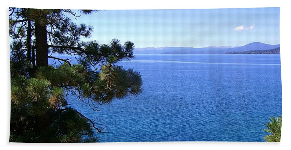 California Hand Towel featuring the photograph Lake Tahoe 2 by J D Owen