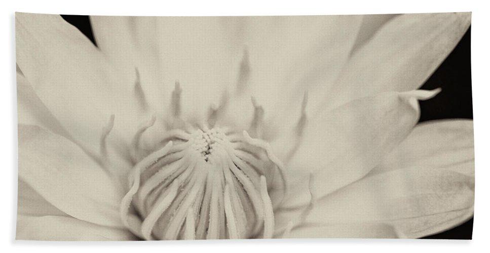 Beautiful Bath Sheet featuring the photograph Lotus Flower by U Schade