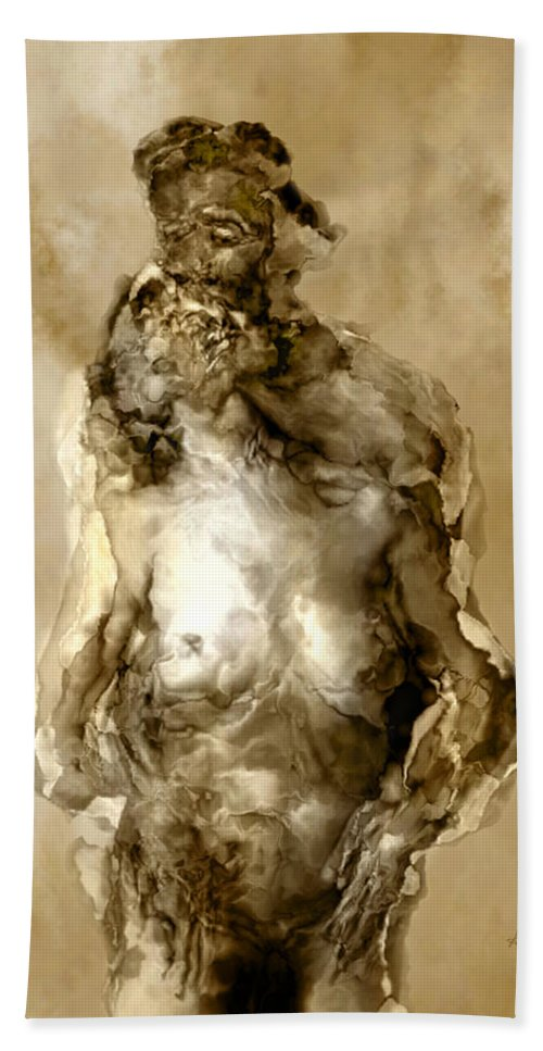 Nude Bath Towel featuring the photograph Melt by Kurt Van Wagner