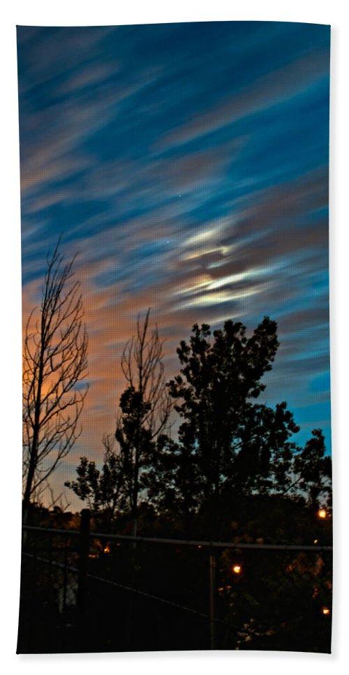 Moon Bath Sheet featuring the photograph Moondance by Steve Harrington
