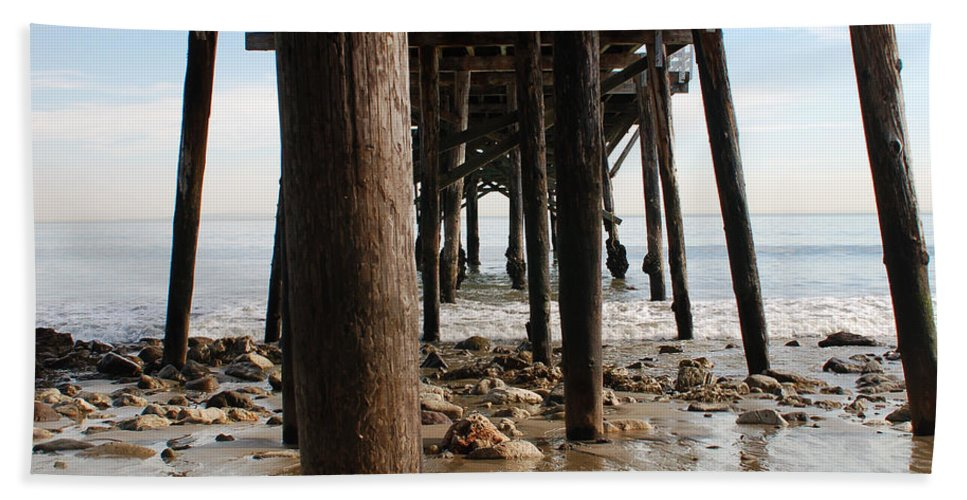 Paradise Cove Bath Sheet featuring the photograph New Photographic Art Print For Sale Paradise Cove by Toula Mavridou-Messer