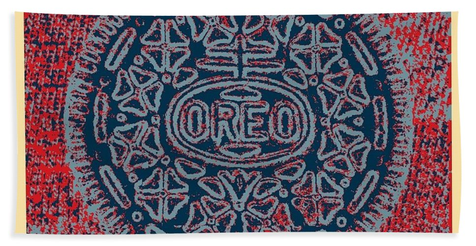 Cartoon Art Hand Towel featuring the photograph Oreo In Hope1 by Rob Hans