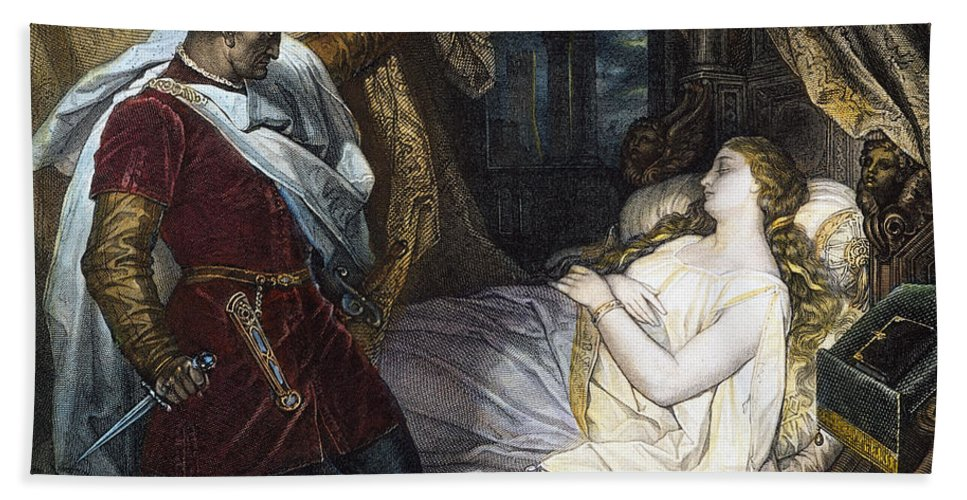 19th Century Hand Towel featuring the photograph Othello, 19th Century by Granger