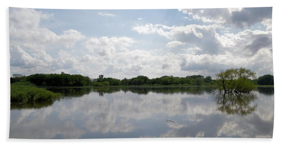 Reflections Bath Sheet featuring the photograph Reflections by Bonfire Photography