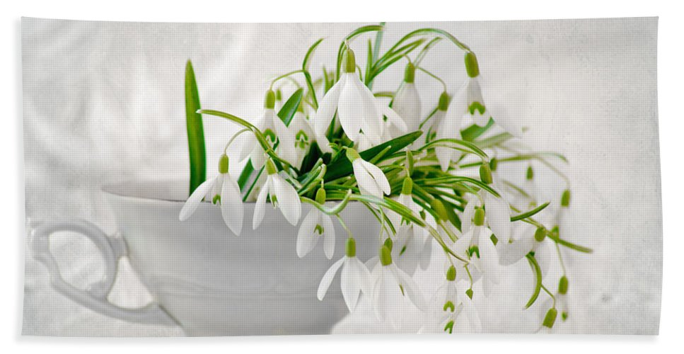 Landscape Hand Towel featuring the photograph Springtime by Steffen Gierok