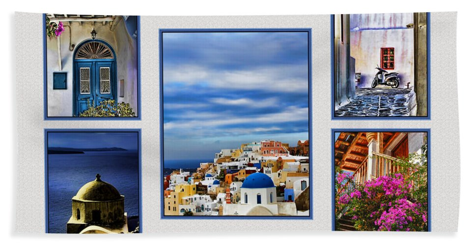 Europe Hand Towel featuring the photograph The Greek Isles by Tom Prendergast