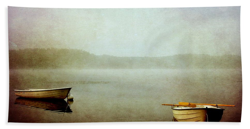 Boat Bath Sheet featuring the photograph The Lake by Heike Hultsch