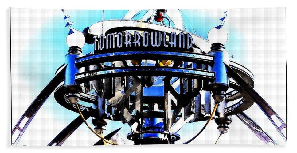 Tomorrowland Hand Towel featuring the photograph Tomorrowland by Joyce Baldassarre