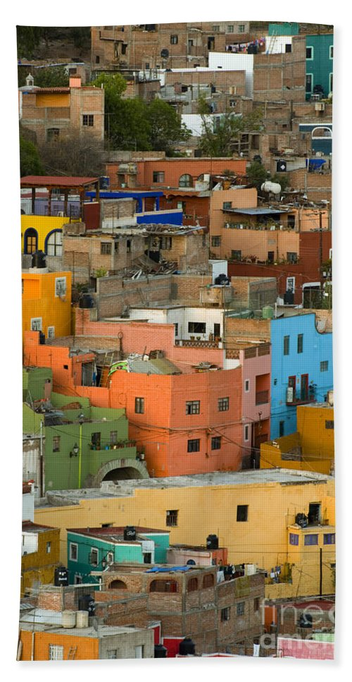 Guanajuato Bath Sheet featuring the photograph Guanajuato, Mexico by John Shaw