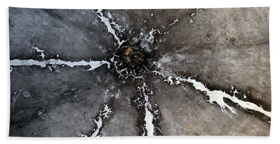 Mosaic Bath Sheet featuring the photograph Untitled by Ed Weidman