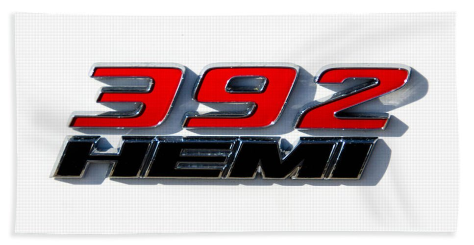 392 Hemi Hand Towel featuring the photograph 392 Hemi by Guy Whiteley