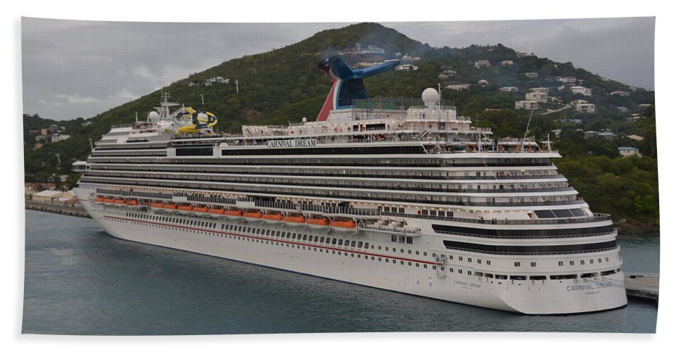 Carnival Bath Sheet featuring the photograph Carnival Dream by Richard Booth
