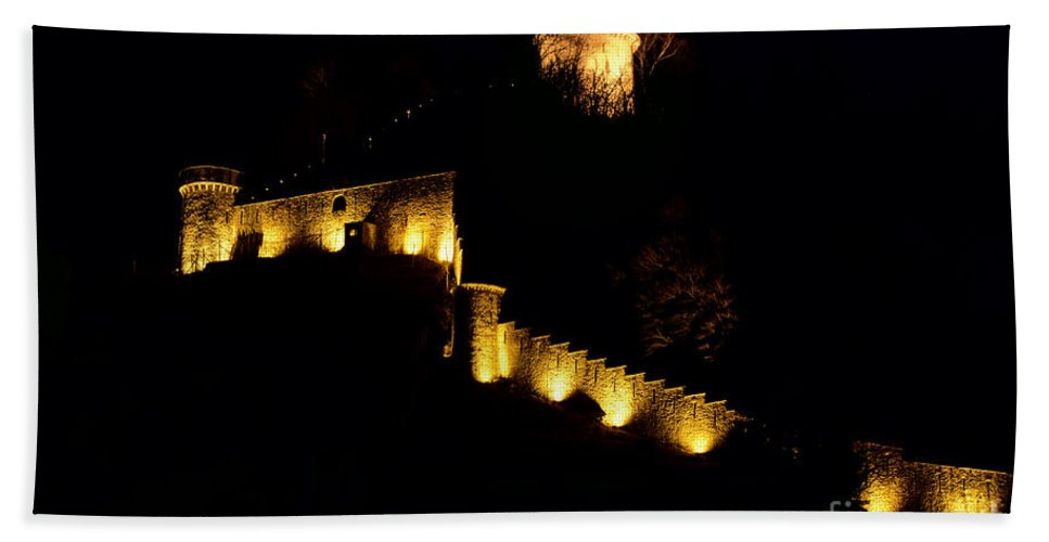 Castle Bath Sheet featuring the photograph Castle by Mats Silvan