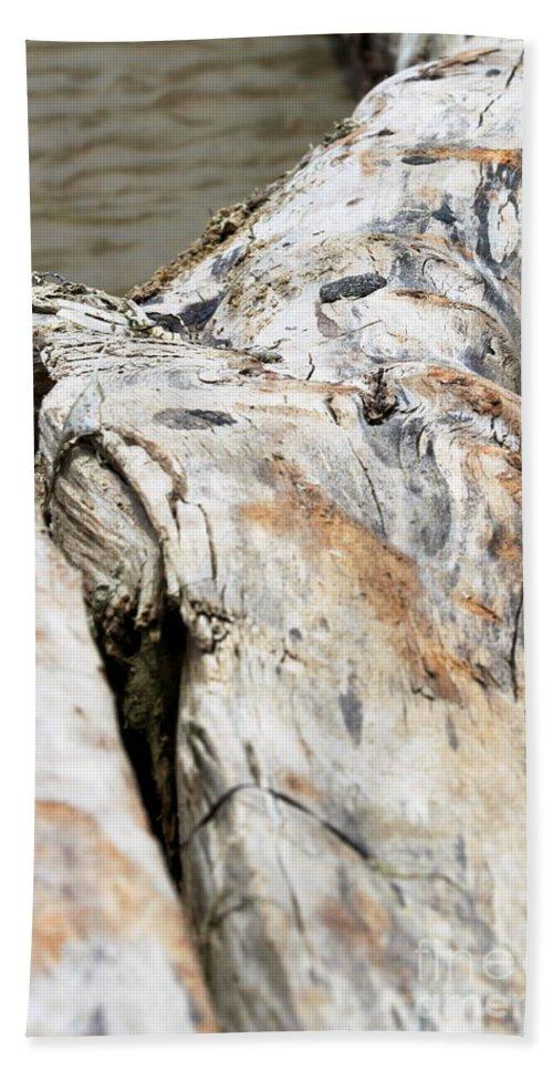 Drift Hand Towel featuring the photograph Driftwood by Henrik Lehnerer