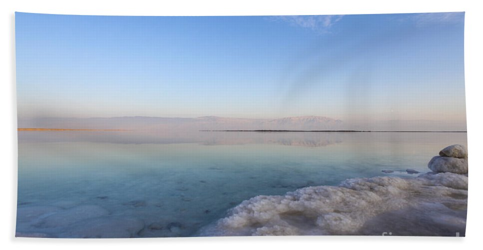 Landscapes Hand Towel featuring the photograph Israel Dead Sea by Gal Eitan