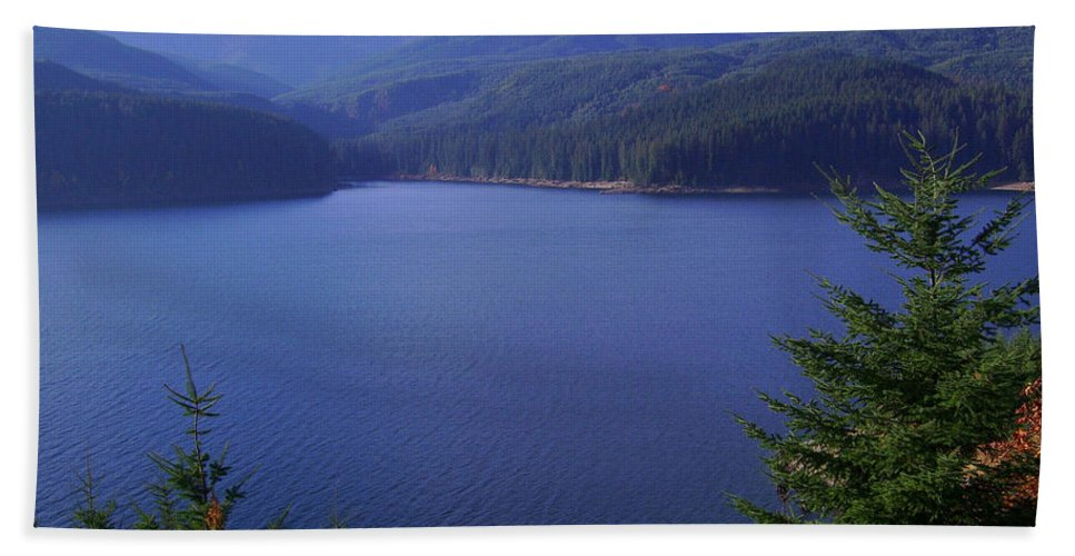 Bloom Hand Towel featuring the photograph Lakes 1 by J D Owen