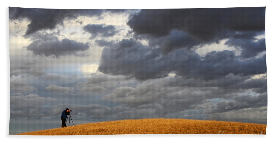 Photography Bath Sheet featuring the photograph Living The Dream by Bob Christopher