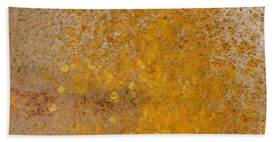 Metal Bath Sheet featuring the photograph Metal Plate by Mats Silvan