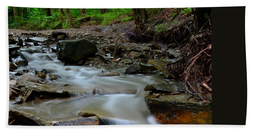 Peace Bath Sheet featuring the photograph Serenity by Frozen in Time Fine Art Photography