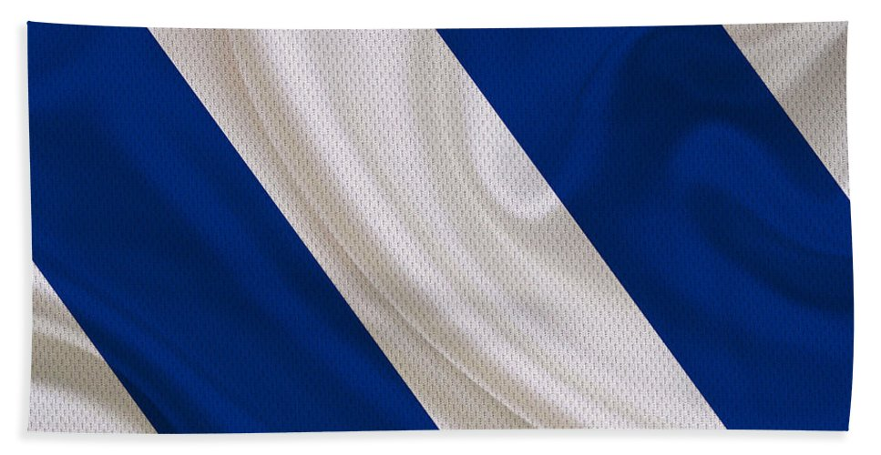 Colts Hand Towel featuring the photograph Indianapolis Colts by Joe Hamilton