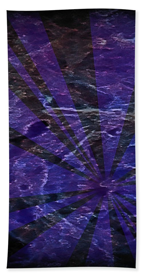 Abstract Bath Sheet featuring the painting Abstract 95 by J D Owen