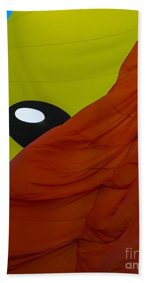 Albuquerque Hand Towel featuring the photograph Balloon Fiesta by Steven Ralser