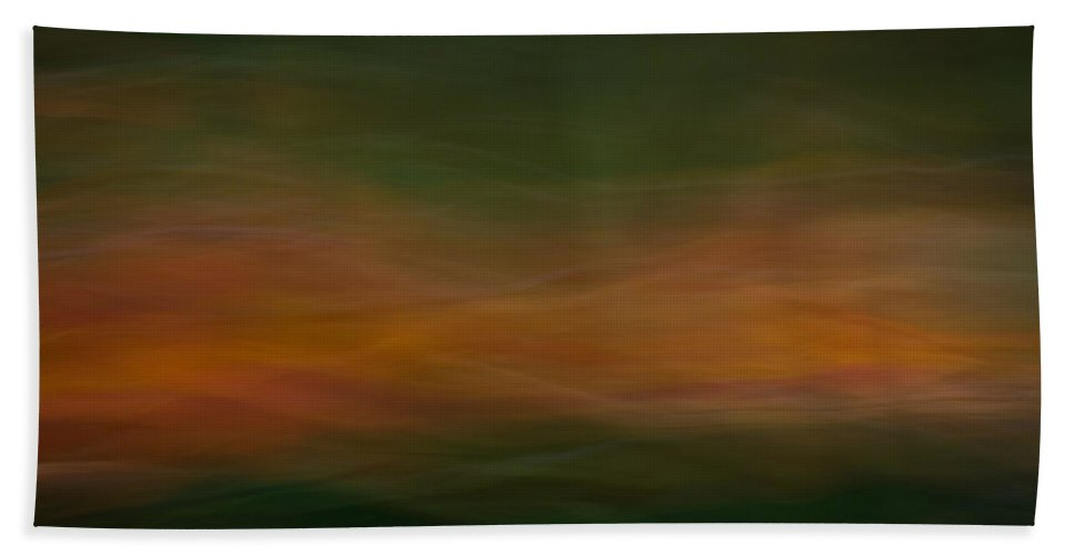 Motion Blur Bath Sheet featuring the photograph Blurscape by Dayne Reast