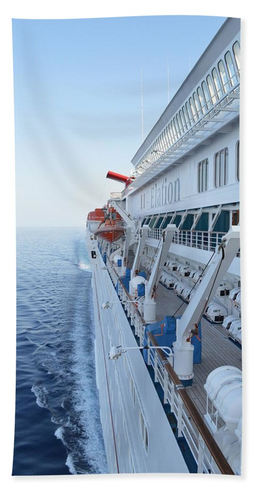 Carnival Hand Towel featuring the photograph Carnival Elation by Richard Booth