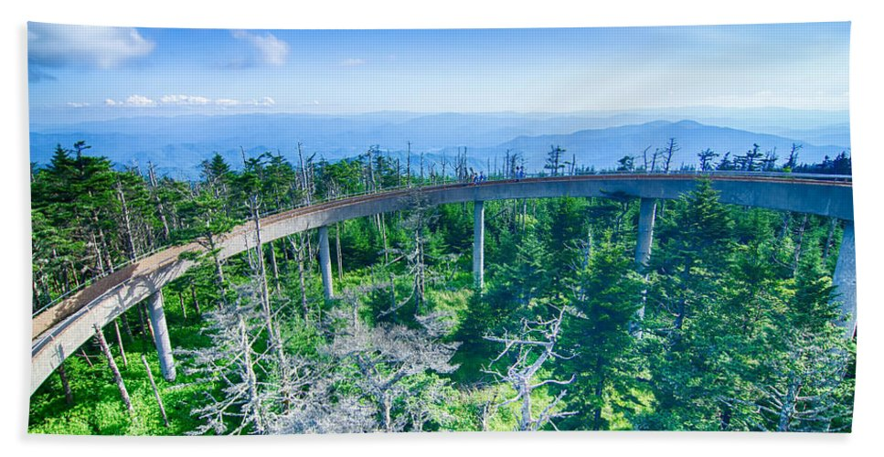 Great Hand Towel featuring the photograph Clingmans Dome - Great Smoky Mountains National Park by Alex Grichenko