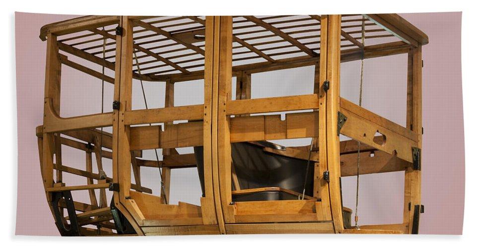 4 Door Vehicle Wood Frame Hand Towel featuring the photograph 4 Door Vehicle Wood Frame by Paul Cannon