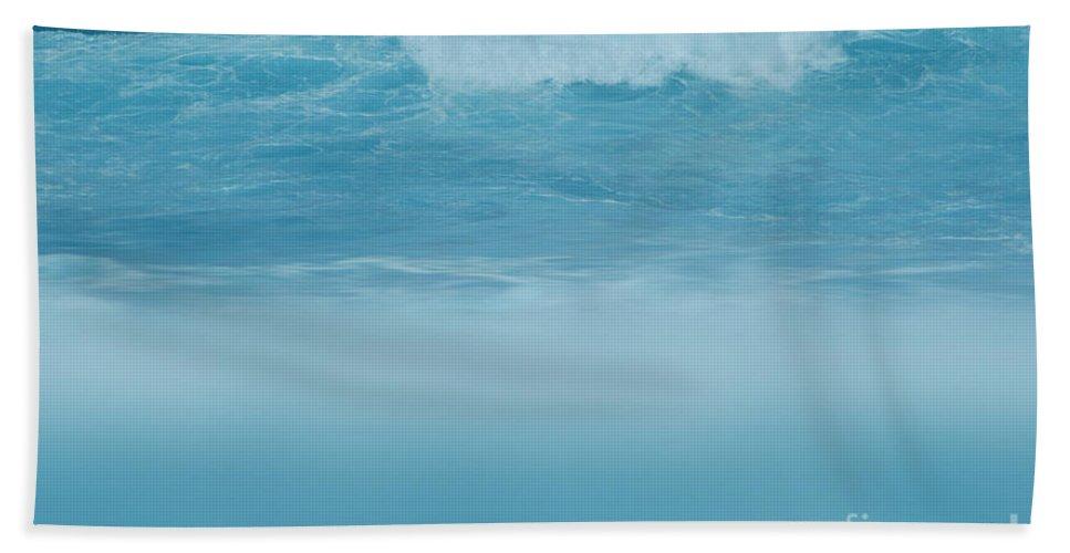 Aloha Hand Towel featuring the photograph Hookipa by Sharon Mau