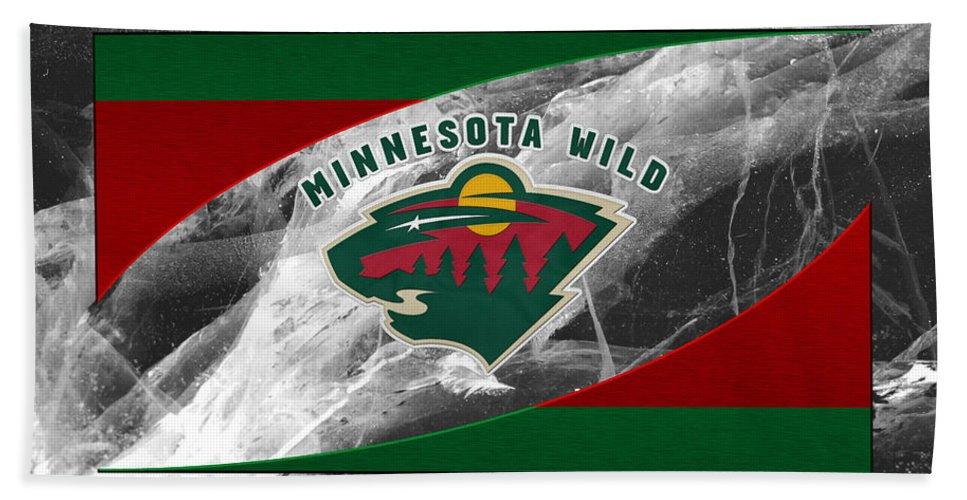 Wild Bath Towel featuring the photograph Minnesota Wild by Joe Hamilton