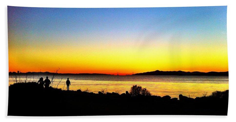 Landscape Hand Towel featuring the photograph Sunset IIi by Priscilla De Mesa