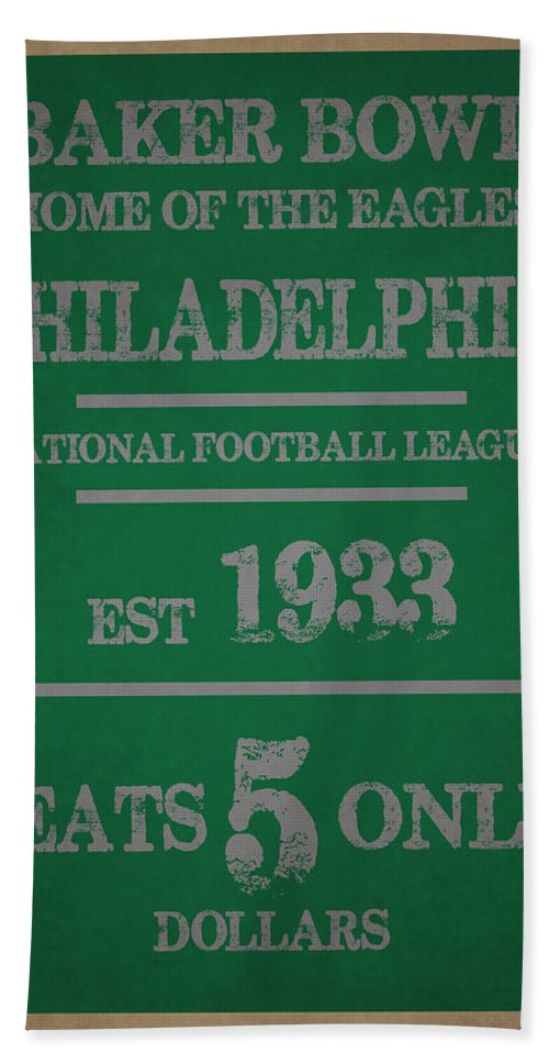 Eagles Bath Sheet featuring the photograph Philadelphia Eagles by Joe Hamilton
