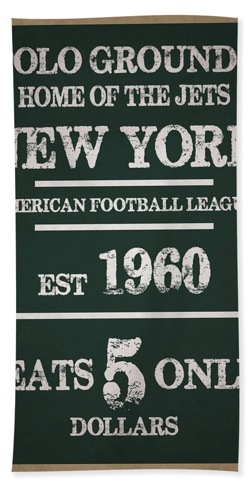 Jets Bath Sheet featuring the photograph New York Jets by Joe Hamilton