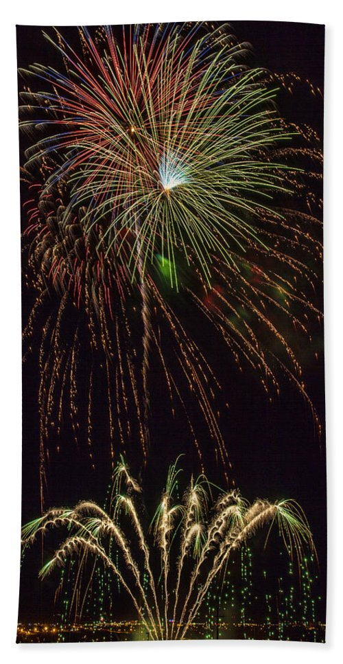 4th Of July Hand Towel featuring the photograph 4th July #2 by Diana Powell