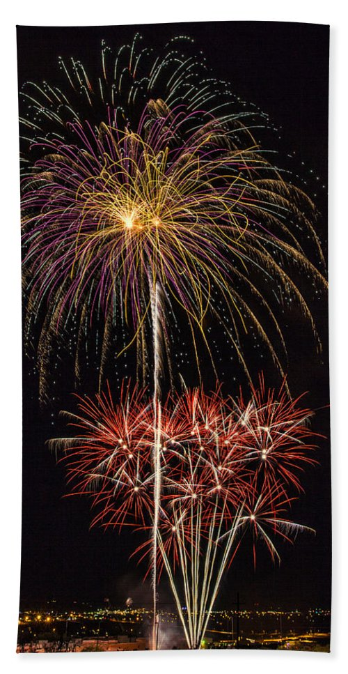 4th Of July Hand Towel featuring the photograph 4th July #3 by Diana Powell