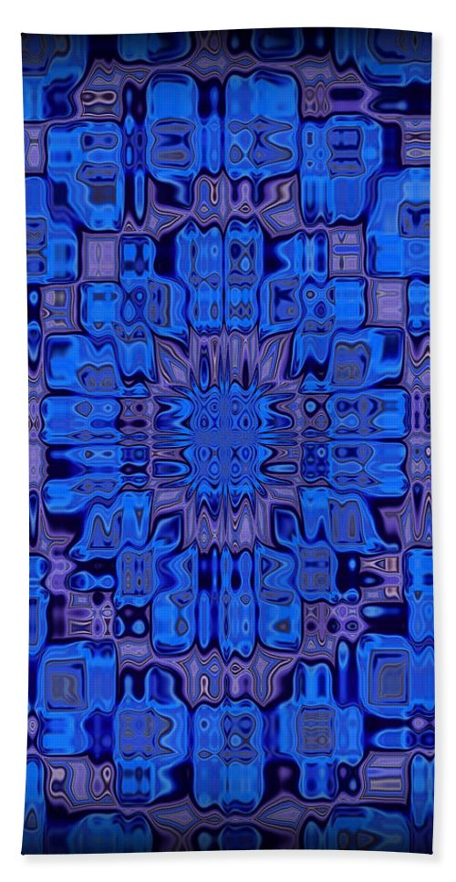 Original Hand Towel featuring the painting Abstract 119 by J D Owen