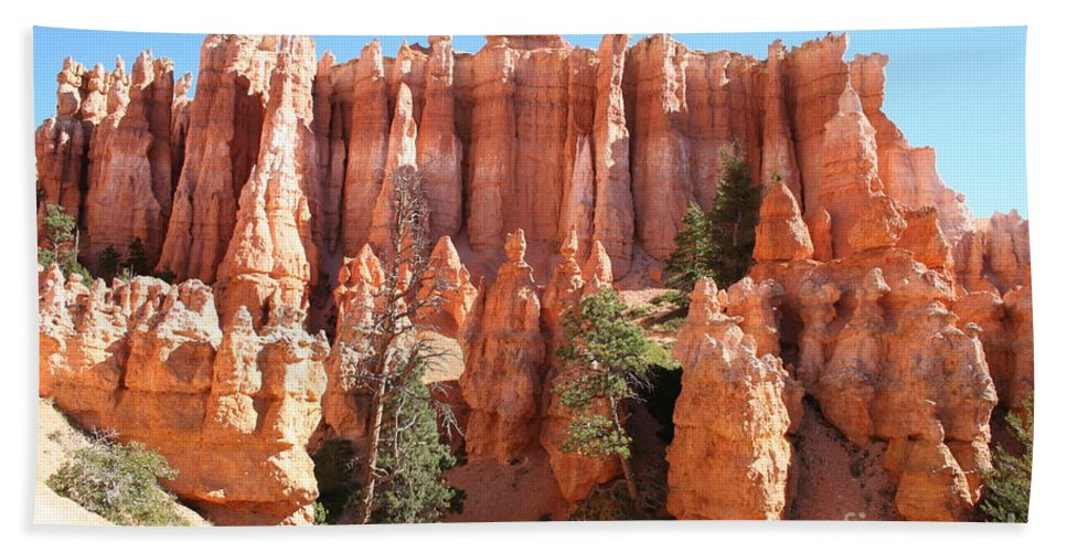Canyon Hand Towel featuring the photograph Bryce Canyon by Christiane Schulze Art And Photography